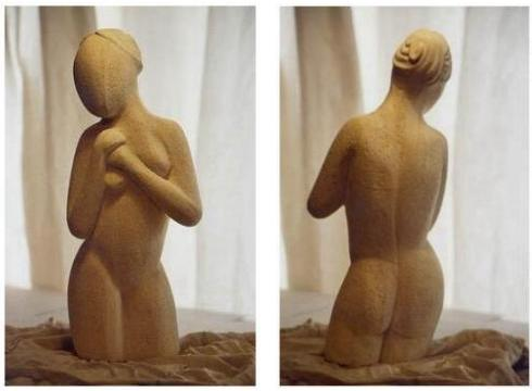 nude sculpture