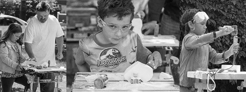 children stone carving